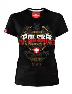 Koszulka damska Polska Niepodległa