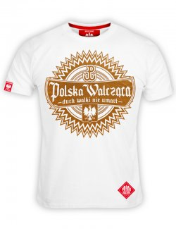 Koszulka Polska Walcząca - biała