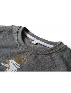 Koszulka dziecięca Orzeł - ciemny szary