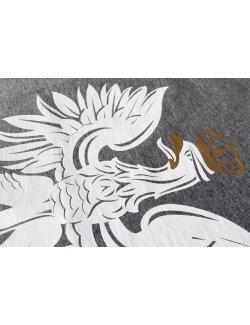 Koszulka męska Orzeł - ciemny szary