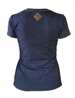 Koszulka damska Haft Orzeł - Jeans