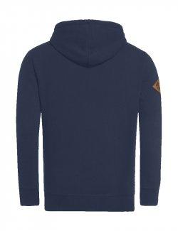 Bluza męska Dywizjon 303 z kapturem - jeans