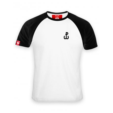 Koszulka męska haft Polska Walcząca - biała