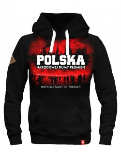 Bluza Narodowej Dumy Płomień - czarna