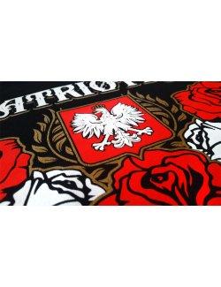 Koszulka damska Patriotka - czarna