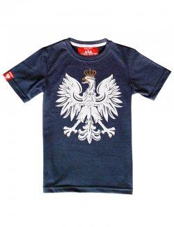 Koszulka dziecięca Orzeł - jeans