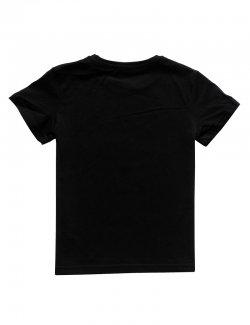 Koszulka dziecięca Polska - pamiętam skąd jestem - Czarna