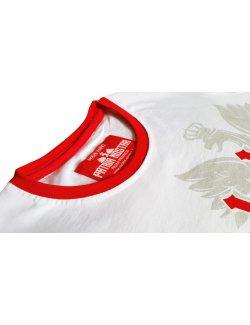 Koszulka damska Polska biało-czerwoni - Biała