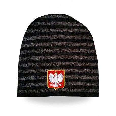 Czapka zimowa Godło Polski |1