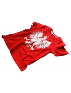 Koszulka dziecięca Orzeł - Czerwona
