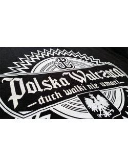 Koszulka Polska Walcząca - Czarna